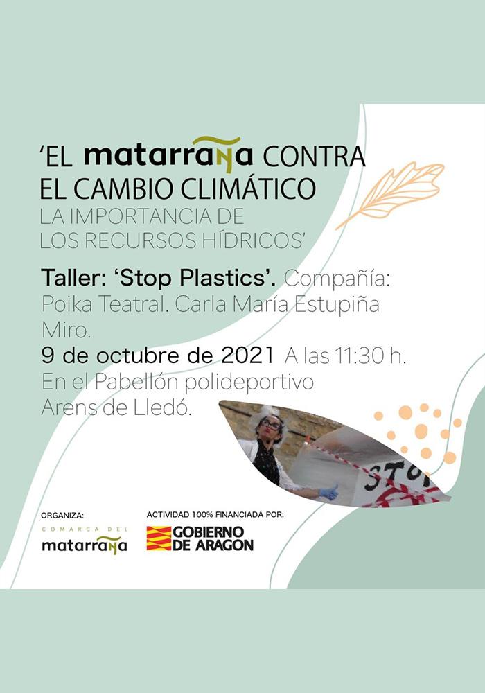 'Stop Plastics' en Arens de Lledó