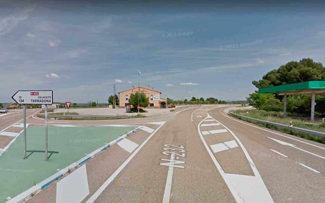 El proyecto de obra definirá cómo se construirán los 18 kilómetros de autovía de Alcañiz a las Ventas de Valdealgorfa / Google Maps
