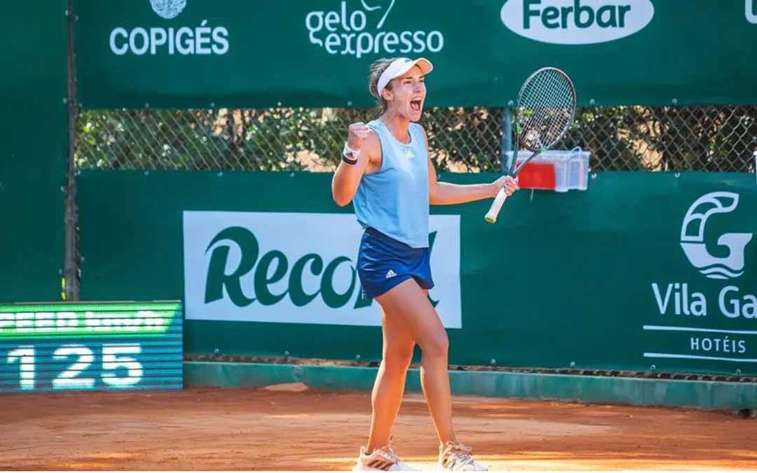La caspolina Irene Burillo fue la vencedora del torneo W25 Monte Lisboa el pasado domingo / I.B